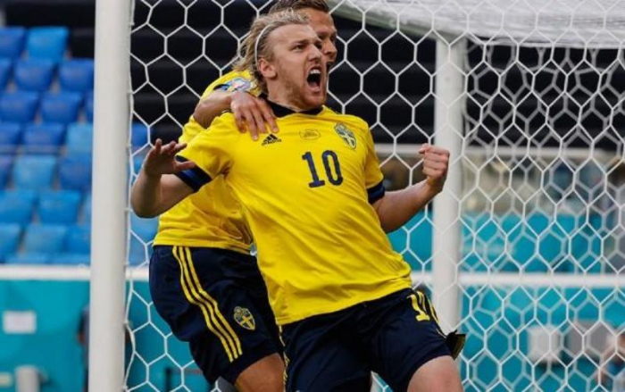 İsveç Slovakiyaya qalib gəldi-