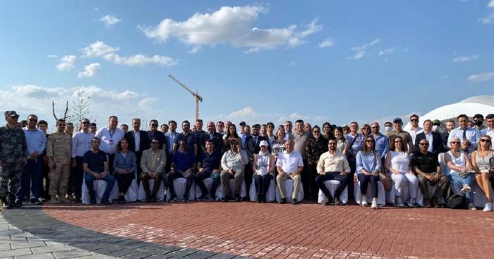 انتهت رحلة ممثلي البعثات الدبلوماسية الأجنبية إلى مدينة أغدام