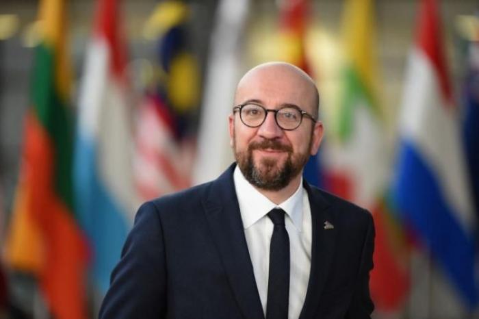 """""""أرحب بالخطوة الإنسانية لأذربيجان"""" -   شارل ميشيل"""