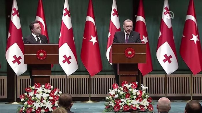 """""""Azərbaycan-Gürcüstan-Ermənistan üçtərəfli əməkdaşlığını dəstəkləyirik"""" -    Ərdoğan"""