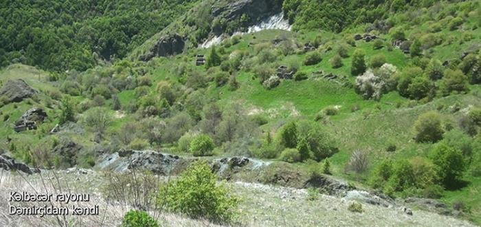 Damirchiadam village of Azerbaijan