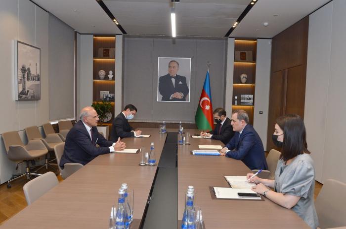 Azerbaijani FM meets newly-appointed Italian Ambassador