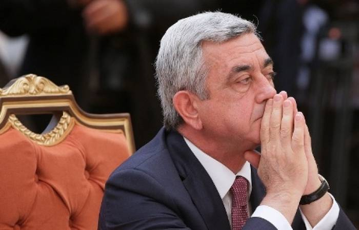 Bodies of Armenian servicemen stored in freezers for several months, ex-president Sargsyan says