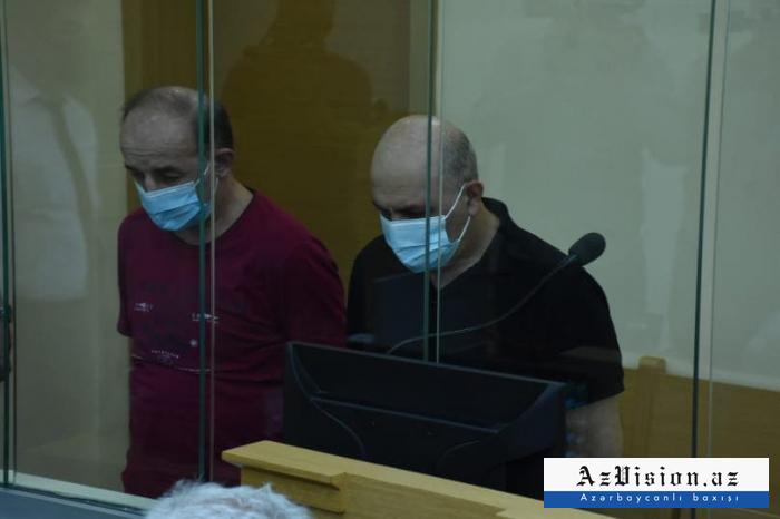 Armenians who tortured Azerbaijani POWs stand trial - PHOTOS