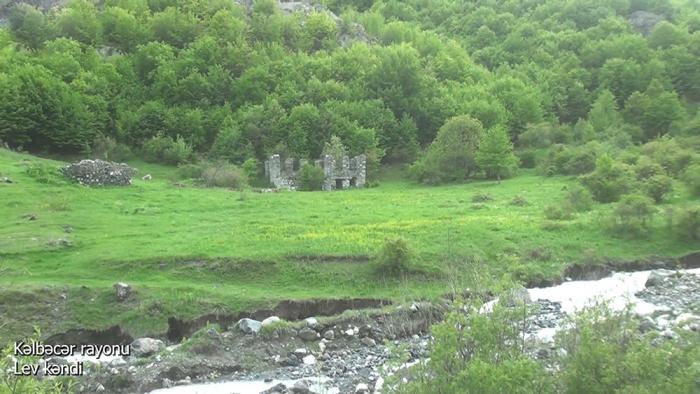 Lev village of Azerbaijan