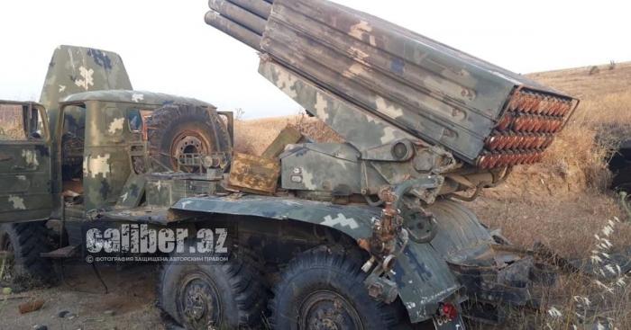 "Azerbaijan finds two MLRS BM-21 ""Grad"" left by Armenians -   PHOTOS"