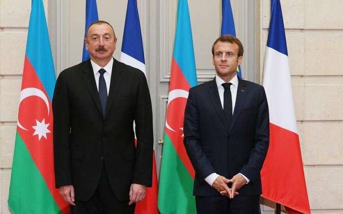 Macron sends letter to President Ilham Aliyev