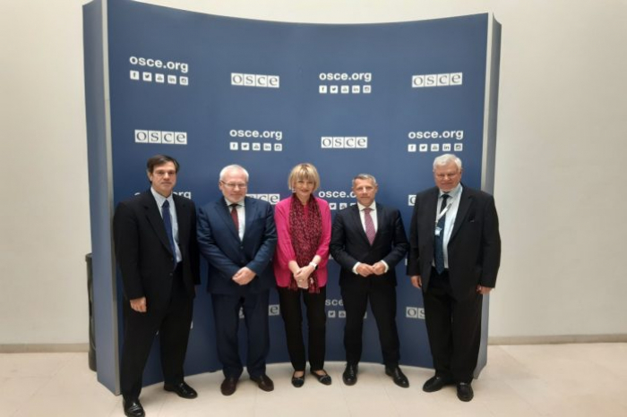 OSCE Secretary General meets with Minsk Group co-chairs