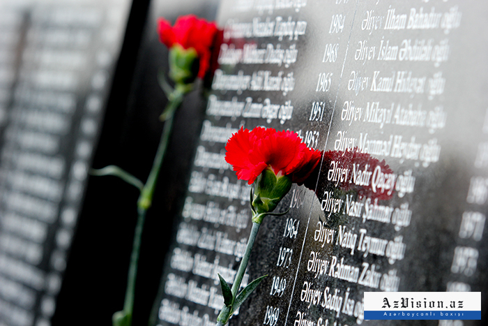 Resolution on Khojaly genocide presented to the party of the Netherlands