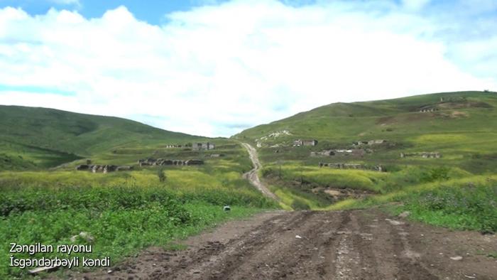 Azerbaijani MoD shares new video footage from Zangilan