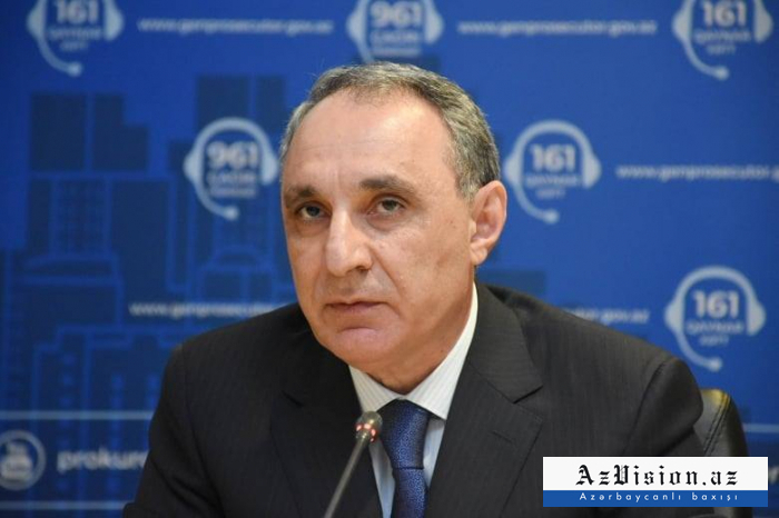 Prosecutor General sends appeal to international organizations regarding incident in Kalbajar
