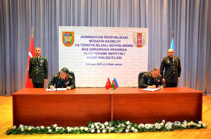 Azerbaijan-Turkey high-level military dialogue ends