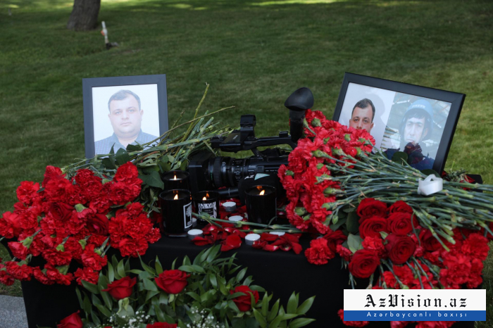 Azerbaijan mourns journalists killed mine explosion –   VIDEO/PHOTO