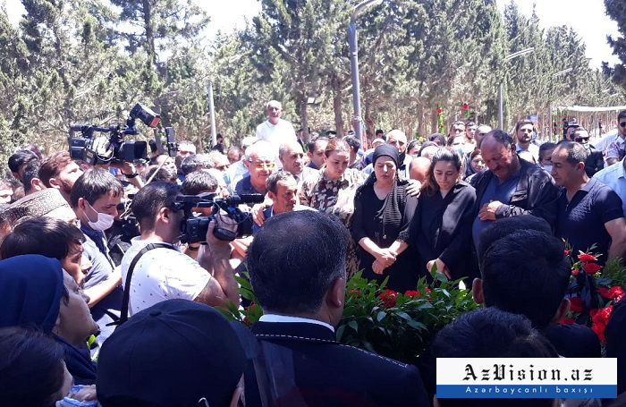 Farewell ceremony held for Azerbaijani journalist martyred in Kalbajar - UPDATED