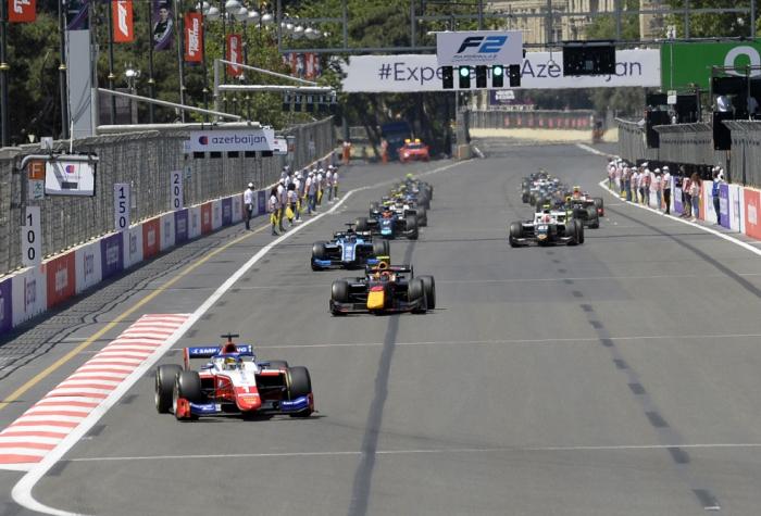 """""""Formula-2"""":  Son yarışın qalibi bəlli oldu -  YENİLƏNİB"""
