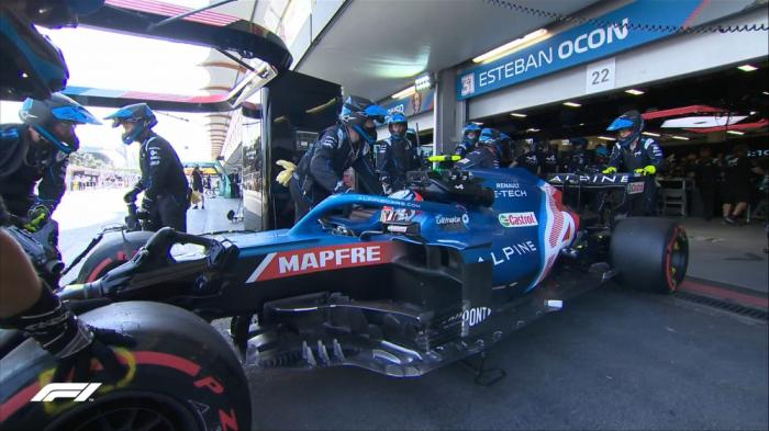 """Formula 1:  """"Alpine""""nin pilotu sıradan çıxdı"""