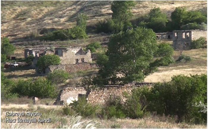 Haji Ismayilli village of Azerbaijan's Jabrayil district –   VIDEO