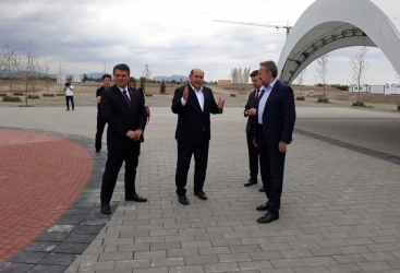 بدء زيارة وفد بوسني الى مدينة أغدام المحررة من الاحتلال الأرميني
