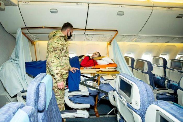 63 aserbaidschanische Kriegsveteranen in der Türkei behandelt