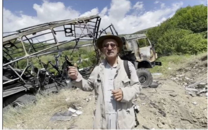 World-famous photographer Deghati visits Kalbajar where Azerbaijani journalists killed - VIDEO