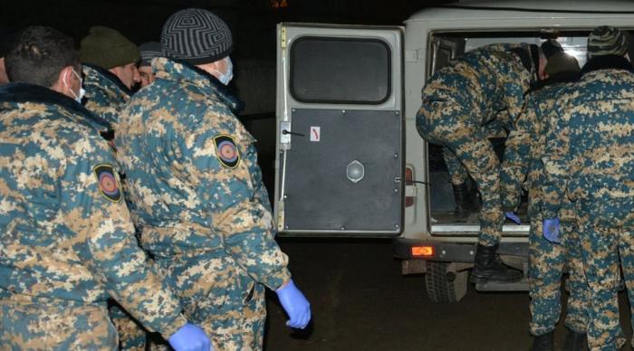 Les restes de trois autres militaires arméniens retrouvés
