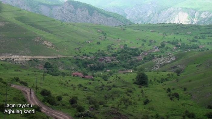 Le ministère de la Défense diffuse une   vidéo   du village d'Aghboulag de la région de Latchine