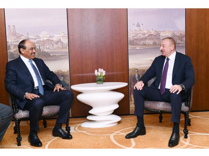 Der Premierminister von Kuwait gratulierte Ilham Aliyev