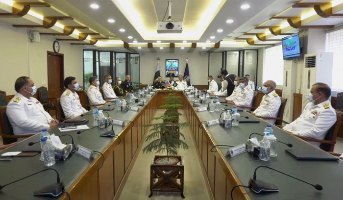 Commanders of Azerbaijan and Pakistan Naval Forces discuss cooperation