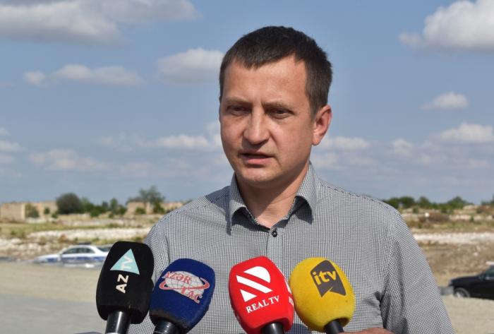"""""""Ermənilər törətdikləri əməllərə görə cavab verməlidir"""" -    Armands Krauze"""