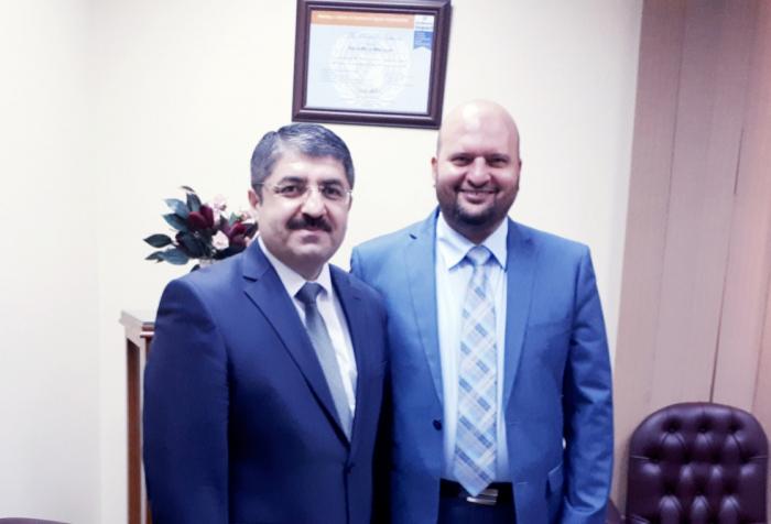 تعيينالعالم الأذربيجانيمستشارا في مصر