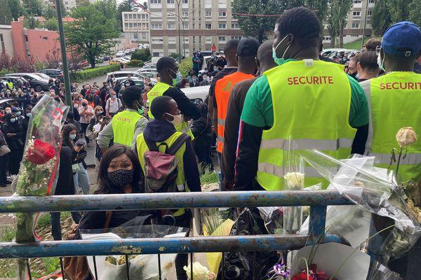 France:   une marche a eu lieu après le meurtred