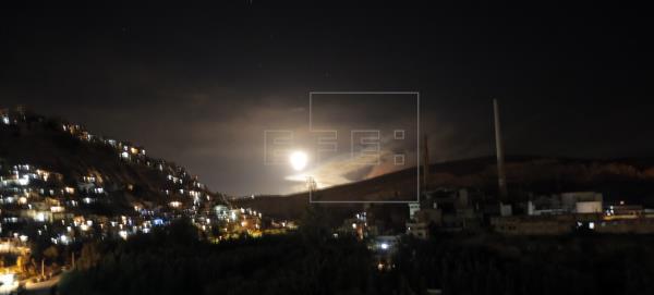 Siria acusa a Israel de un nuevo ataque aéreo, el primero en más de un mes
