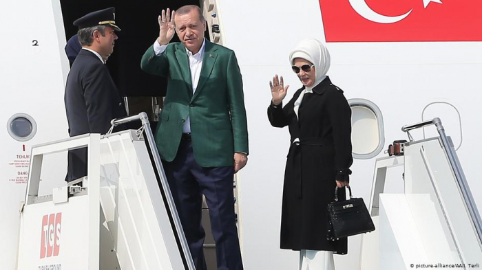 Erdogan wird mit seiner Familie nach Schuscha reisen