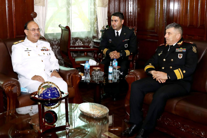 Commander of Azerbaijani Naval Forces visits Pakistan Navy War College