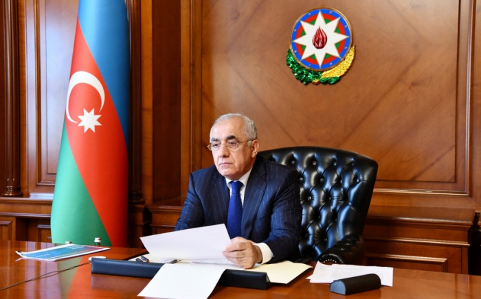 Azerbaijan's PM chairs videoconference on Baku's hosting EURO 2020 matches