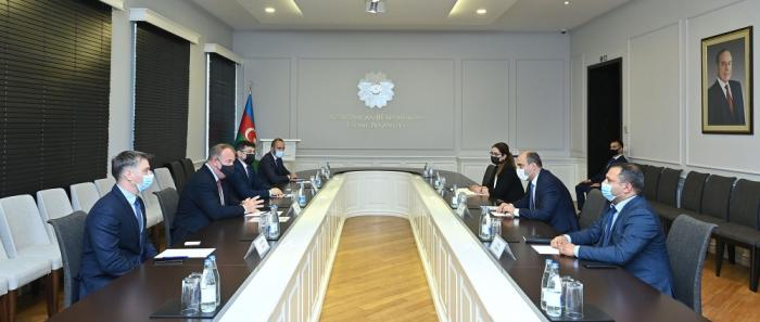 Le ministre azerbaïdjanais de l'Education a reçu des représentants de la société CISCO