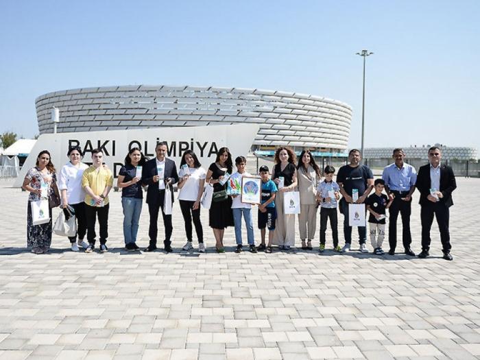 YAŞAT uşaqlara AVRO-2020-nin biletlərini hədiyyə etdi