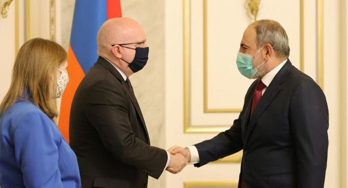 US official, Armenia's acting PM discuss Karabakh