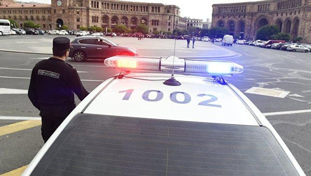 Armenian police arrest ex-President Kocharyan's supporters at protest rally