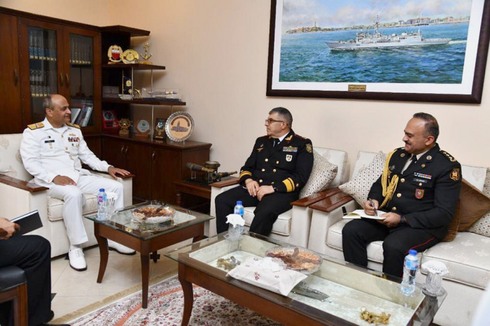 Delegation of Azerbaijani Naval Forces holds several meetings in Pakistan