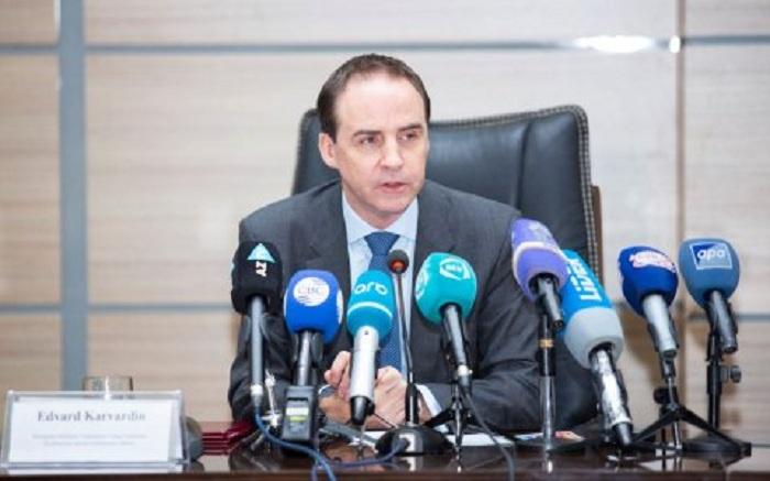 Head of UNICEF Baku Office completes his mission