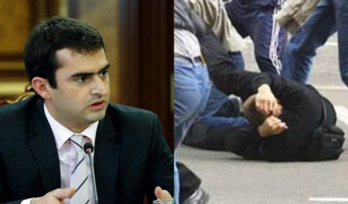 Former Armenian minister beaten during election campaign