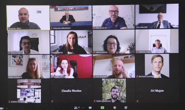 European Alliance of News Agencies online webinar commemorates Azerbaijani journalists killed in a mine explosion