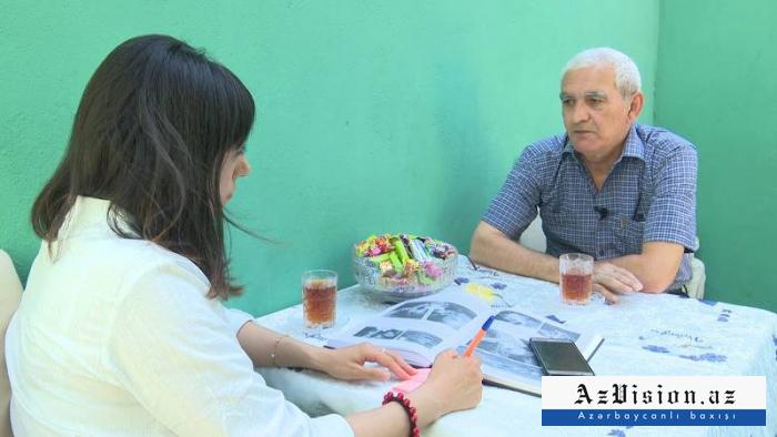 Un Azerbaïdjanais revient sur sa captivité dans une interview accordée à AzVision - VIDEO