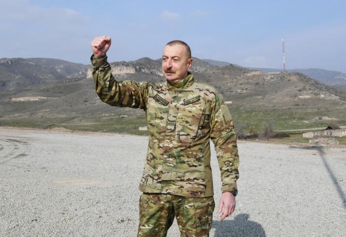 İlham Əliyevin daha bir qələbəsi:  Ağdam minalardan azaddır!