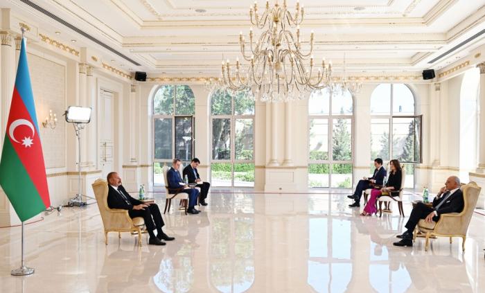 Präsident Aliyev   - Italien wird zu einem der wichtigsten Märkte für unser Erdgas