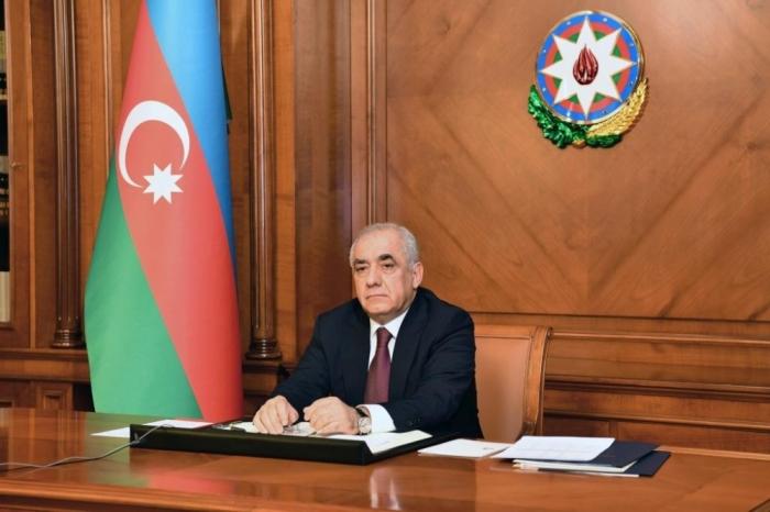Azerbaijani PM congratulates Russian counterpart