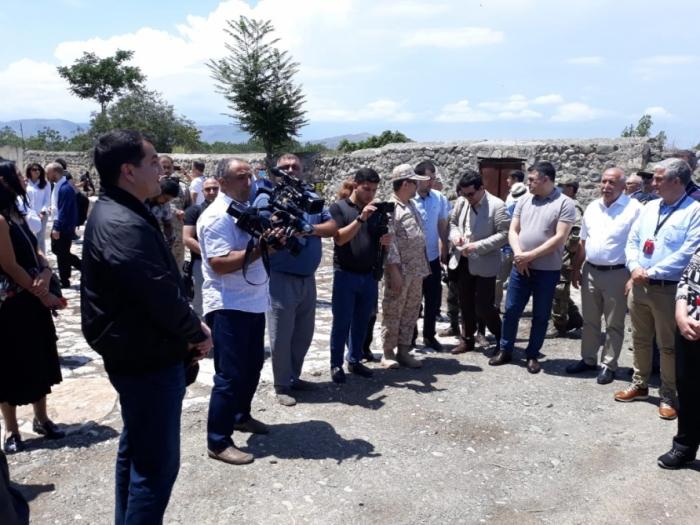 Hikmet Hadjiyev: «Le processus de reconstruction a déjà commencé à Aghdam»
