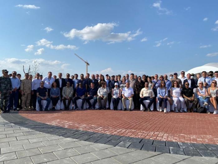 Vertreter des diplomatischen Korps in Aserbaidschan beenden ihren Besuch in Agdam