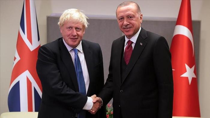 Türkischer Präsident trifft britischen Premierminister beim Nato-Gipfel